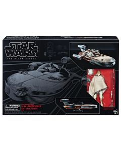 "Star Wars The Last Jedi 6""  Vehicle Luke Skywalkers C-34 Landspeeder w/ Luke Skywalker Action Figure"