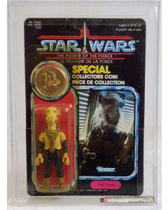 1985 Kenner Canada Star Wars POTF 92 Back Yak Face AFA 85 Y-NM+ #14942348