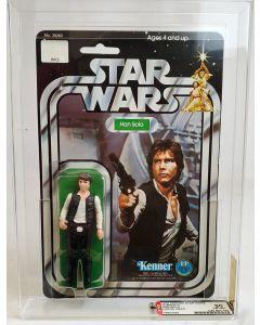 1978 Kenner Star Wars 12 Back-C Han Solo Large Head AFA 90 NM+/MT #19802292