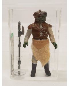 1983 Kenner Star Wars Loose action figure / HK Klaatu (Thick fur / molded face) AFA 80 NM #11832605