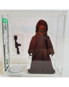 1977 Kenner Star Wars Loose Action Figure / HK Jawa (Dark Brown Stitch) AFA 75 EX+/NM #11569549
