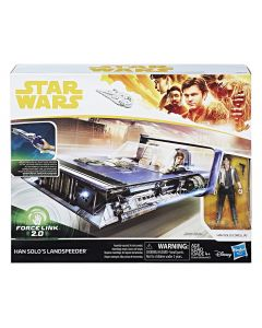 Star Wars Force Link 2.0 Han Solo Landspeeder and Figure