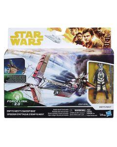 """Star Wars Force Link 2.0 Enfys Nest's Swoop Bike & Figure 3.75"""""""