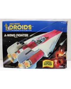 Vintage Star Wars  Droids Vehicles Boxed A-Wing Fighter - MIB C7