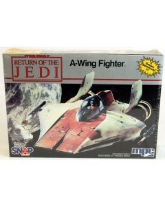 Vintage Star Wars ROTJ A-Wing Fighter MPC Model Kit // MISB C-9