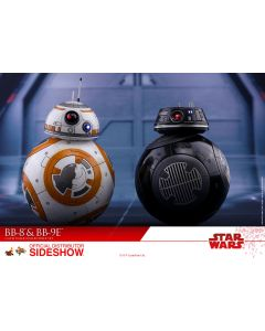 Hot Toys The Last Jedi BB-8 and BB-9E Sixth Scale from Sideshow Collectibles