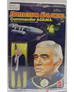 1978 Mattel Battlestar Galactica Commander Adama Series 1/ 6- Back AFA 80+ NM #11995114