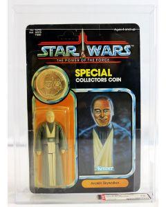 1985 Kenner Star Wars POTF 92 Back Anakin Skywalker // AFA 70 Y-EX+ #15663299