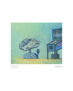 "Licensed Artwork ""Arcade 1979"" - Giclee on Paper- (by Christian Slade)"
