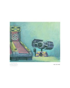 "Licensed Artwork ""Arcade 1981"" - Giclee on Paper- (by Christian Slade)"