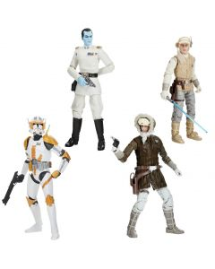 Star Wars The Black Series Archive Action Figures Wave 1 Set of 4