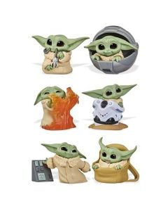 Star Wars The Mandalorian Baby Bounties Wave 2 Set of 6