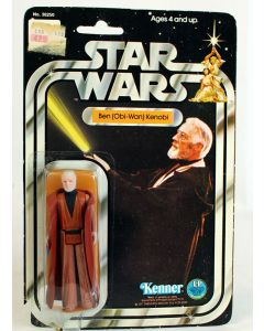 Vintage Kenner Star Wars 12 Back-A Ben (Obi-Wan) Kenobi C2 // No PoP