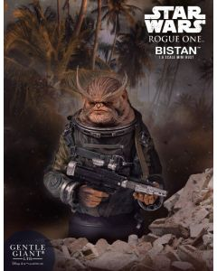 PRE-ORDER: Gentle Giant Rogue One Bistan Mini Bust