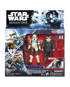 Rogue One: A Star Wars Story Boxed Action Figure 2-Pack Shoretrooper and Captain Bistan
