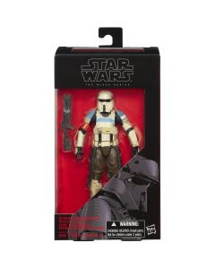 Black Series Rogue One: A Star Wars Story Boxed 6 Inch Scarif Stormtrooper Squad Leader Action Figure
