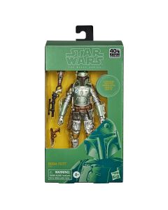Star Wars Black Series 6 Inch Carbonized Boba Fett Action Figure