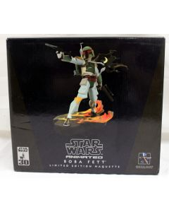Star Wars Gentle Giant Animated  LE Maquette Boxed Boba Fett MIB