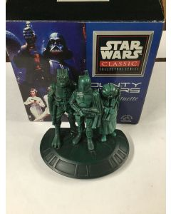 Star Wars Applause Classic Collector Bounty Hunters Statuette - Includes COA