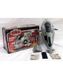 Kenner Vintage Star Wars Slave I Boxed Vehicle // C7.5 w/ C5 Box