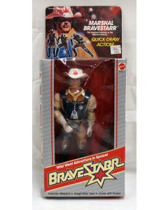 Vintage BraveStarr Marshal Bravestarr with Quick-Draw Action MIB C7