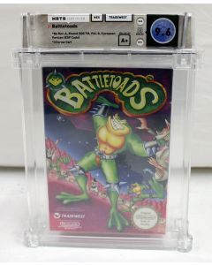 Battletoads - Wata 9.6 A+ (Round SOQ, Pal Version) NES