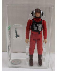 1984 Vintage Star Wars ROTJ Loose B-Wing Pilot AFA 80+ NM // 11222985