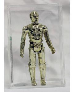 Vintage Loose Star Wars C-3PO Action Figure AFA 80+ #11647898