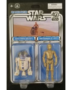 Disney Parks Star Wars 40th Anniversary Droid Factory R2-D2 and C-3PO