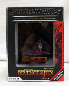Code 3 Collectibles Revenge of the Jedi Movie Poster Collectible Sculpture