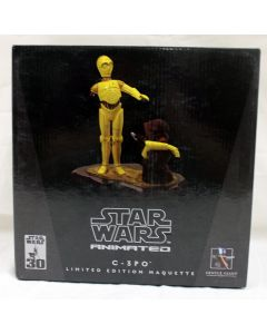 Star Wars Gentle Giant Animated  LE Maquette C-3PO and Jawa MIB
