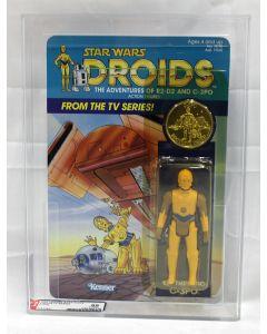 Vintage 1985 Star Wars Droids TV Series C-3PO AFA 85Y (C80 B85 F85) #11314847