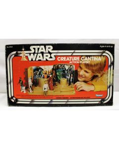 Vintage Star Wars Playsets Boxed Creature Cantina - C8.5 WITH C5 BOX