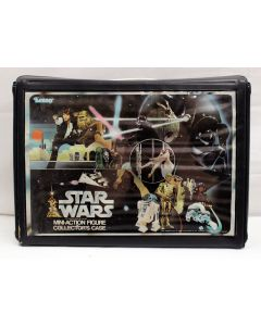 Vintage Star Wars Accessories Loose SW Vinyl Action Figure Case C8 (Includes Insert & Some Decals Applied)
