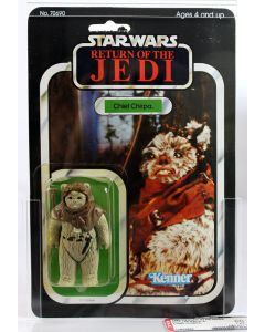 1983 Vintage Kenner Star Wars ROTJ 65 Back-A Chief Chirpa AFA 60 Y-EX #11975884