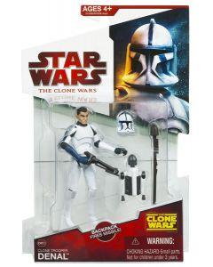 2009 Clone Wars Carded Clone Trooper Denal