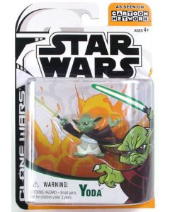 Clone Wars Carded Animated Yoda C-9