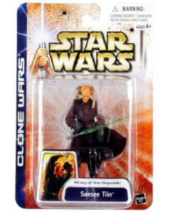 Clone Wars Carded Saesee Tiin C-9