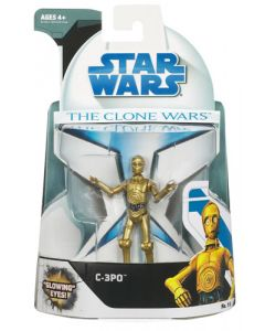 2008 Clone Wars Carded C-3PO C-9