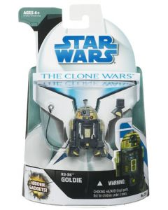 2008 Clone Wars Carded R3-S6 (Goldie) C-9
