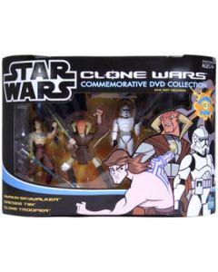 Clone Wars Commemorative DVD Collection Anakin, Saesee Tiin, Clone Trooper