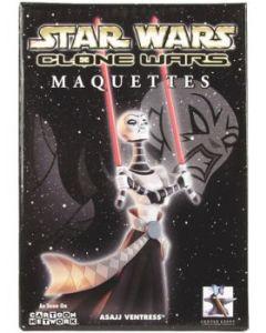 Clone Wars Maquette Asajj Ventress