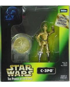 Power of the Force 2 Millennium Minted Coin C-3PO