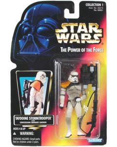POTF2 Red Card Tatooine Stormtrooper (Sandtrooper)