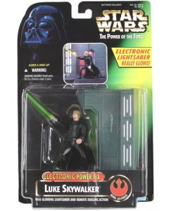 Power of the Force 2 Electronic Power FX Luke Skywalker