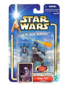 Attack of the Clones Carded Jango Fett (Final Battle)
