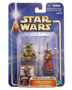 Attack of the Clones Carded Yoda & Chian