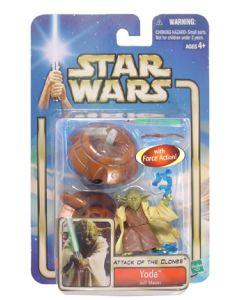 Attack of the Clones Carded Yoda Jedi Master