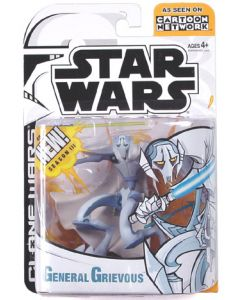 Clone Wars Carded Animated General Grievous (Seanson 3) C-9