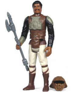 Vintage Loose ROTJ Lando (skiff guard disguise) C-8